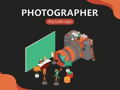 VSS CORP TUYỂN DỤNG THÁNG 1 - PHOTOGRAPHER