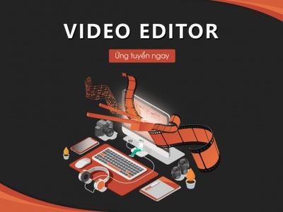 VSS CORP TUYỂN DỤNG THÁNG 12 - VIDEO EDITOR