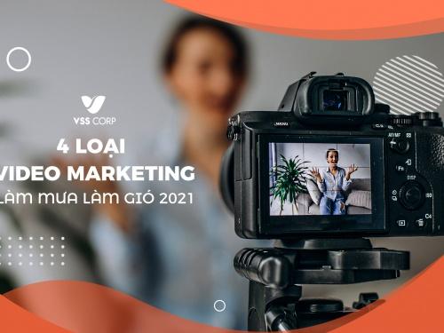 """Đâu là các loại video marketing dự báo """"làm mưa làm gió"""" năm 2021?"""