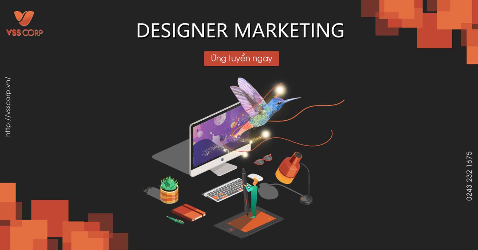 tuyển dụng designer vsscorp