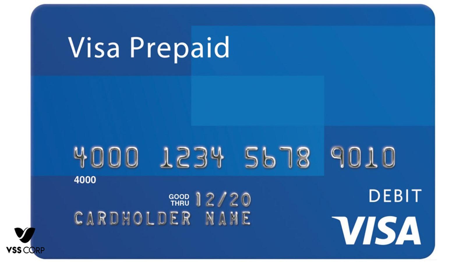 Visa Prepaid(thẻ visa trả trước)