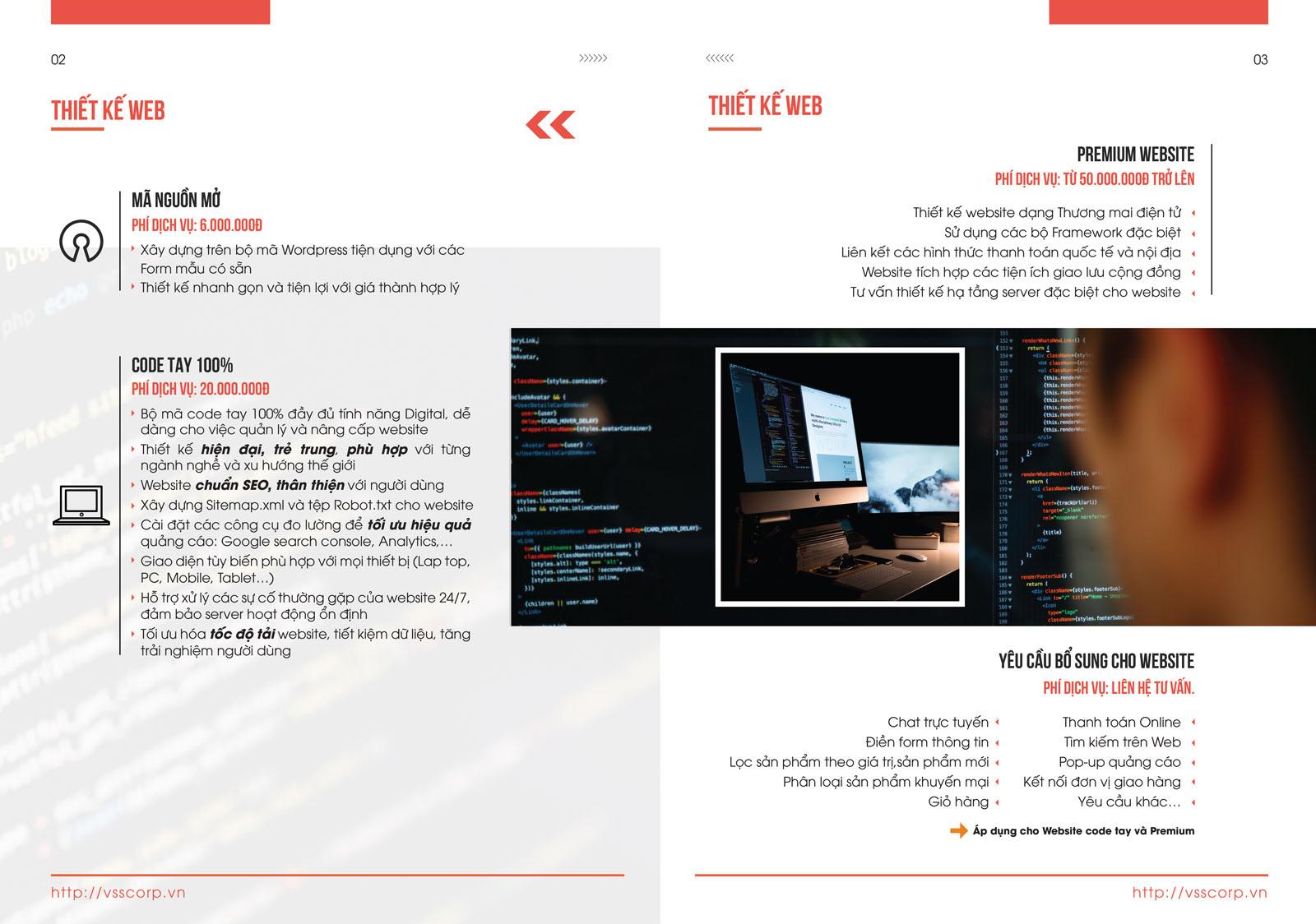 Thiết kế web VSSCORP