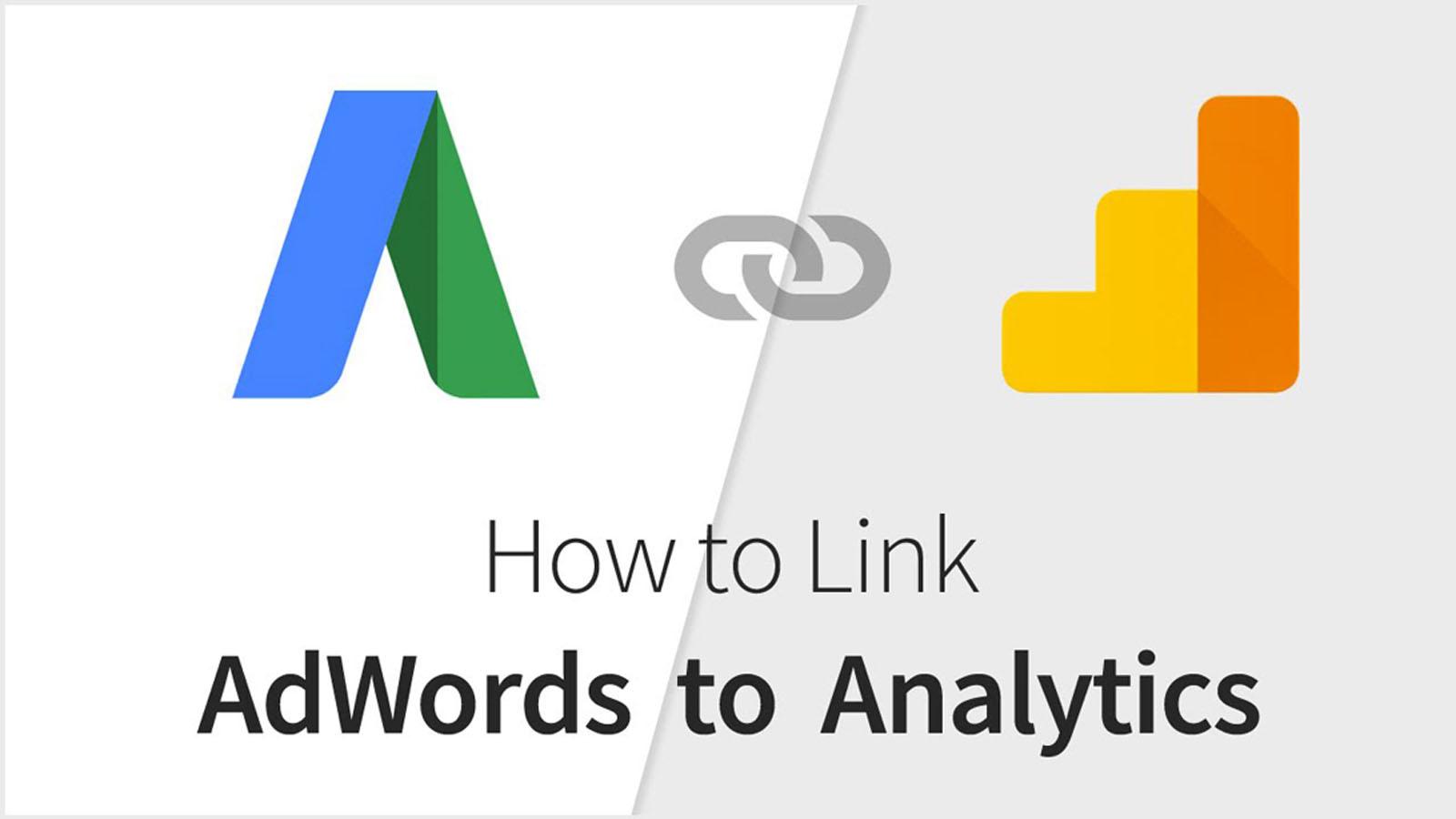 Không liên kết tài khoản Adwords với Google Analytics