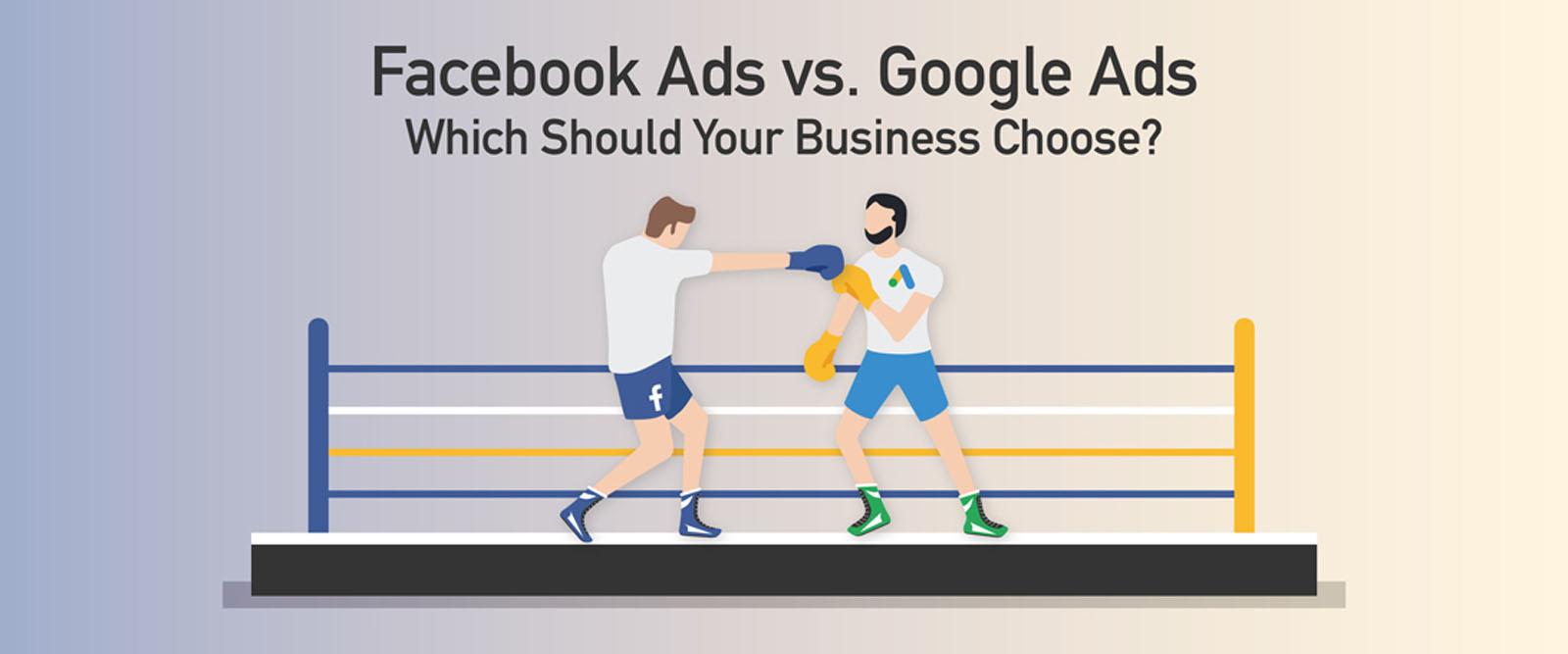 Quảng cáo Google Adwords hay Facebook Ads, sự lựa chọn khôn ngoan?