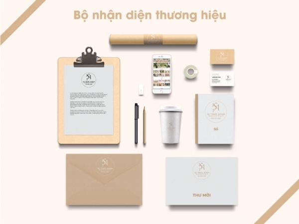 Bộ nhận diện thương hiệu Song Anh Wedding & Events